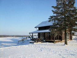 Шестиместный дом с баней 116 м² (6+2) -